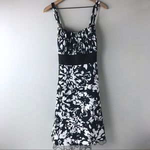 Maurices Floral dress with tie women's 18